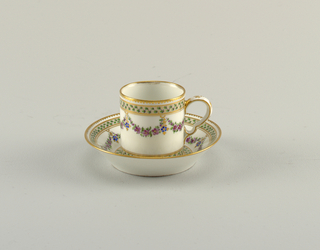 Cup And Saucer (possibly France), late 18th–early 19th century