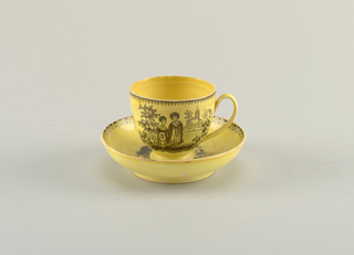 Cup And Saucer, 18th–mid-19th century