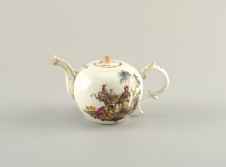 Teapot And Cover (Germany), ca. 1765