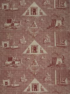 Textile, Les monuments de l'Egypte