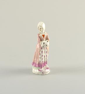 Figure Depicting a Woman in Winter Dress Figure