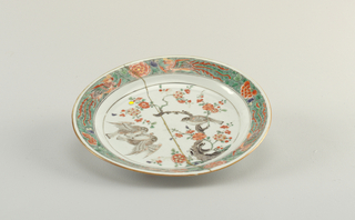 Plate, Mounted (China)