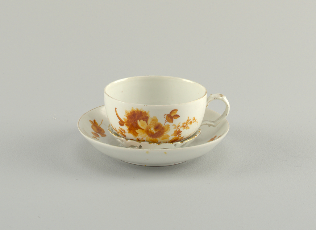 Cup and Trembleuse Saucer Cup And Saucer