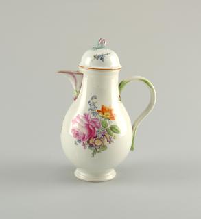 Coffeepot with Flowers Coffeepot