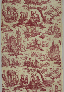 "Textile, ""L'abreuvoir' (The Well)"