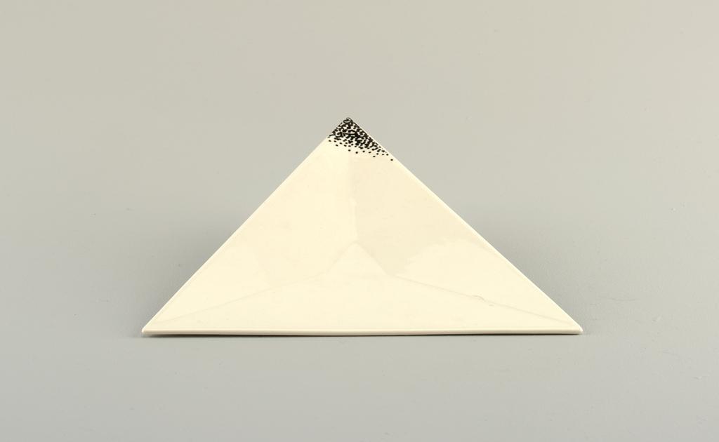"""Angle"" Plate, Dessert, 1988"