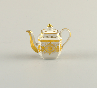 Miniature Teapot And Lid