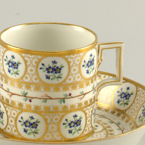 Cup And Saucer (Austria), 18th century