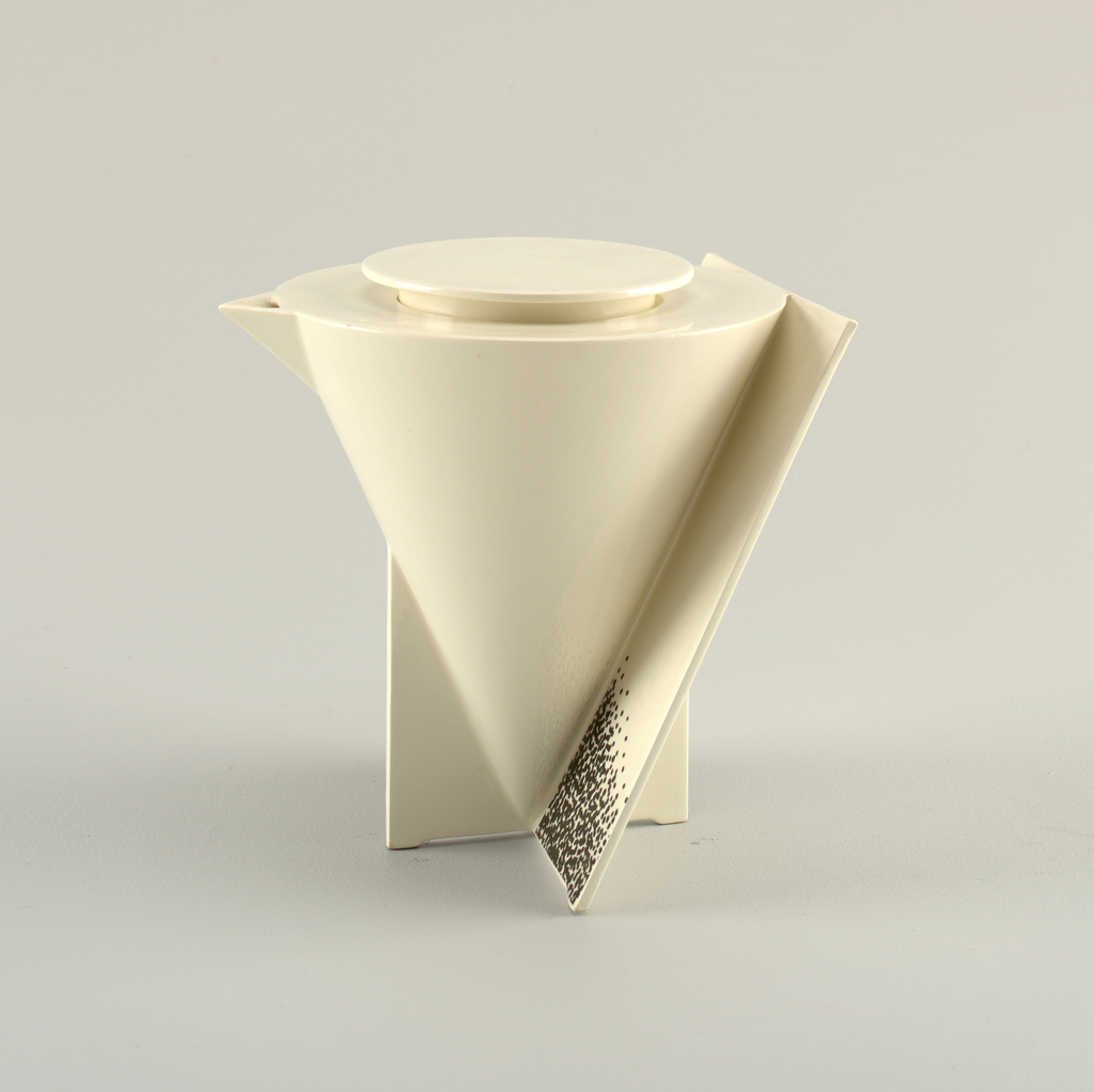 """""""Angle"""" Coffee Pot And Cover, 1988"""
