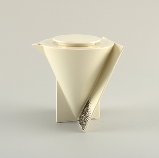 """Angle"" Coffee Pot And Cover, 1988"