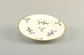 Vieux Paris cornflower plate.