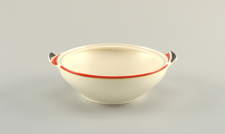 Bowl And Cover (Netherlands), ca. 1930