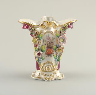 Vase (possibly England), ca. 1840–60