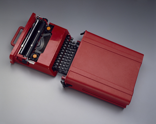 Valentine Typewriter And Case