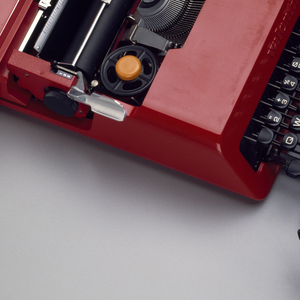 Valentine Typewriter And Case