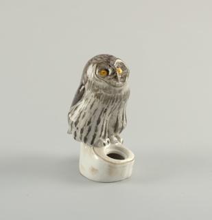 Inkstand with Owl Inkstand