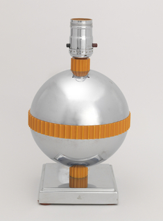 Globe Table Lamp, 1930–40