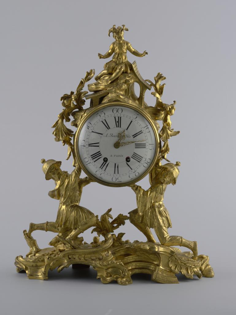 Clock And Key (France), 19th century