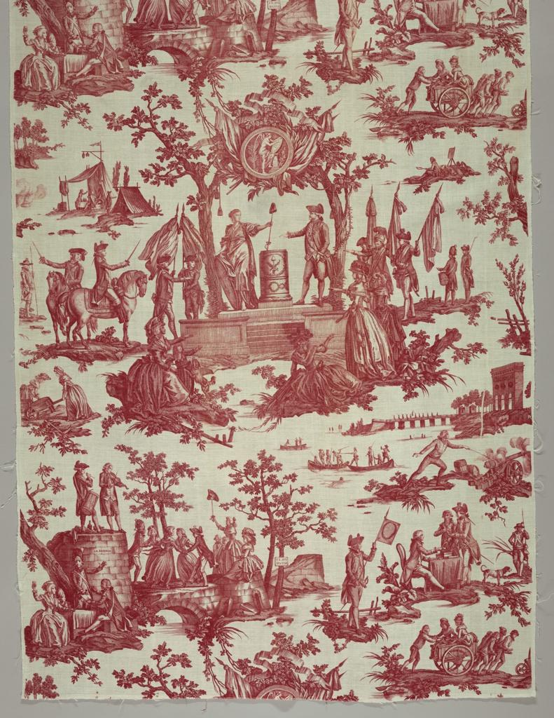 Textile, La Fete de la Federation (The Festival of the Federation)