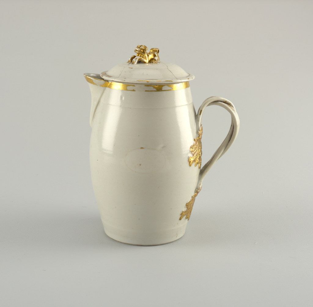 Chocolate Pot And Cover (China)