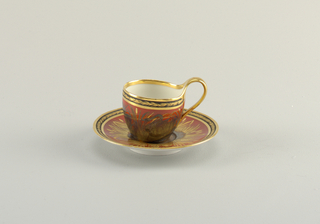 Cup and Saucer with Swans Cup And Saucer
