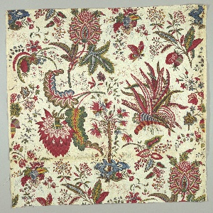 Textile, Fleurs Tropicales et Palmiers (Tropical Flowers and Palms)
