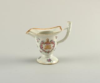 Export helmut shaped pitcher.