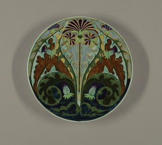 Plate Plate, ca. 1905