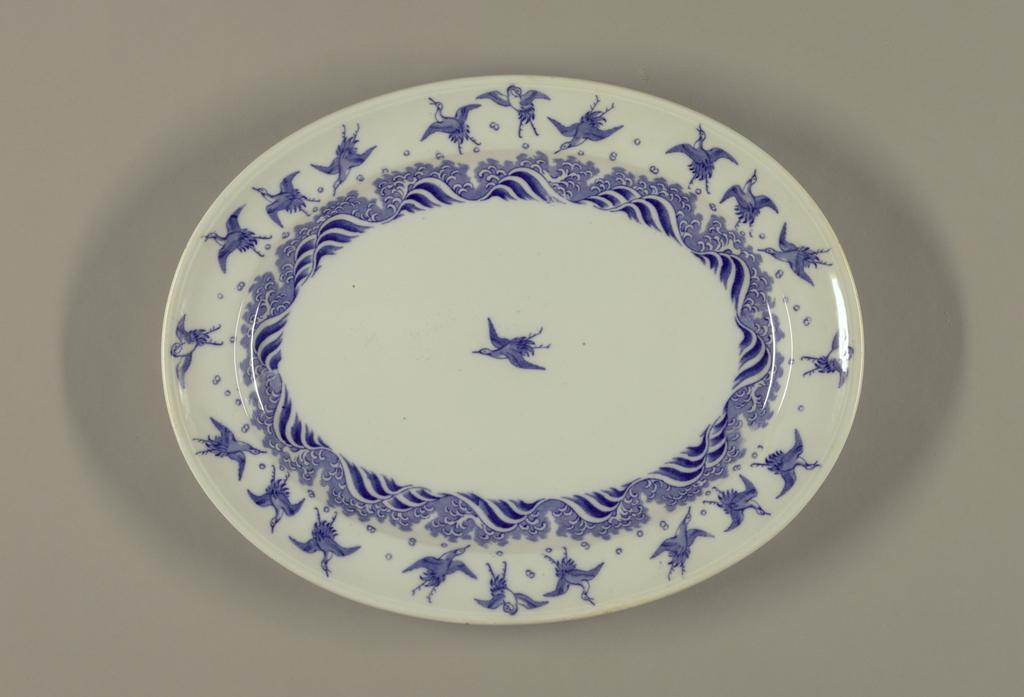 Platter, ca. 1872