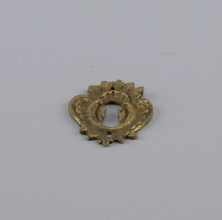 Keyhole Escutcheon (France), ca. 1750