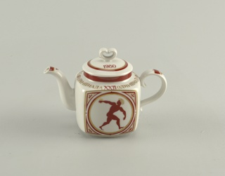 Olympiad XXII Teapot And Cover, 1980