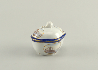 Sugar Bowl And Lid (Italy)