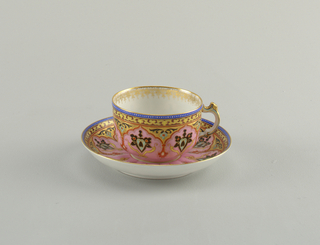 Cup And Saucer (Russia), late 19th century