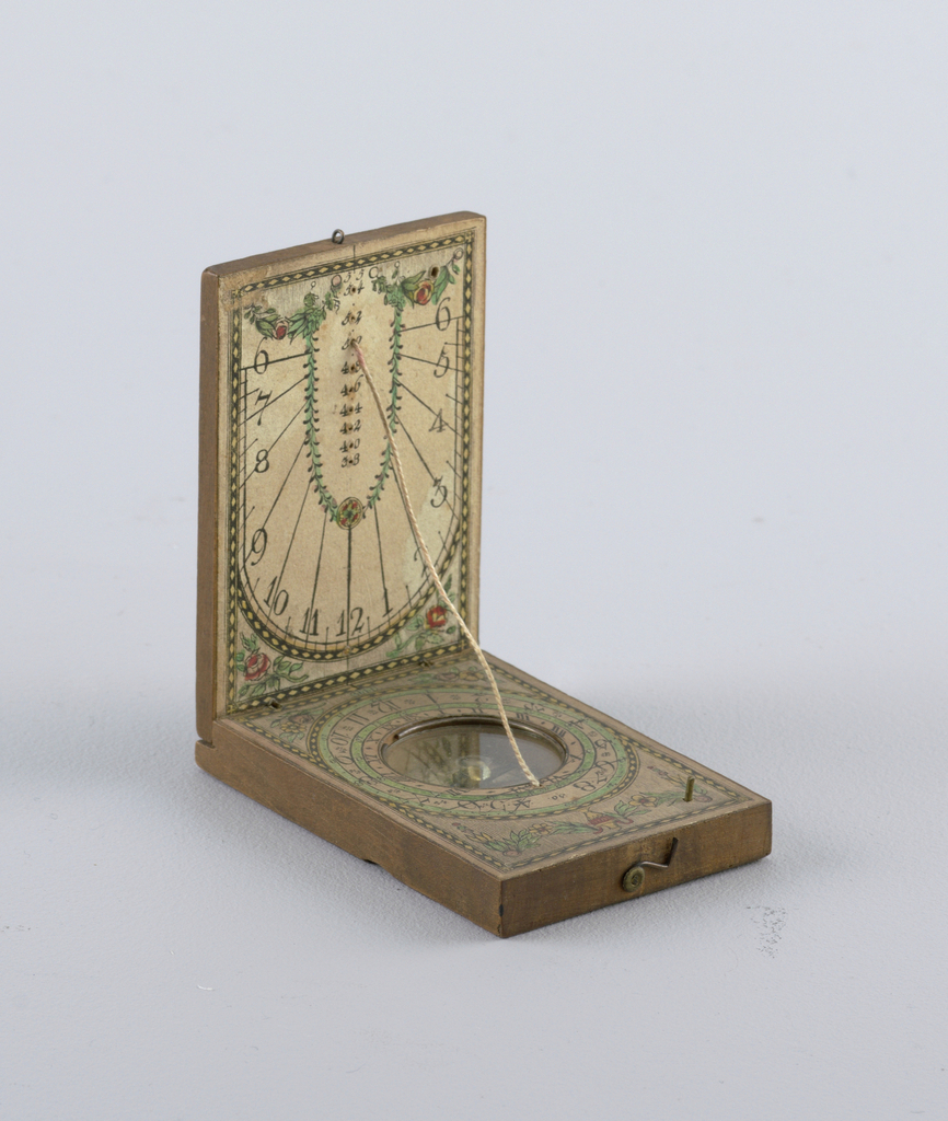 Sundial Compass (Germany), late 18th–early 19th century