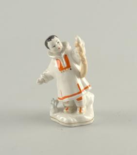 Yakut Boy with Sable Figure