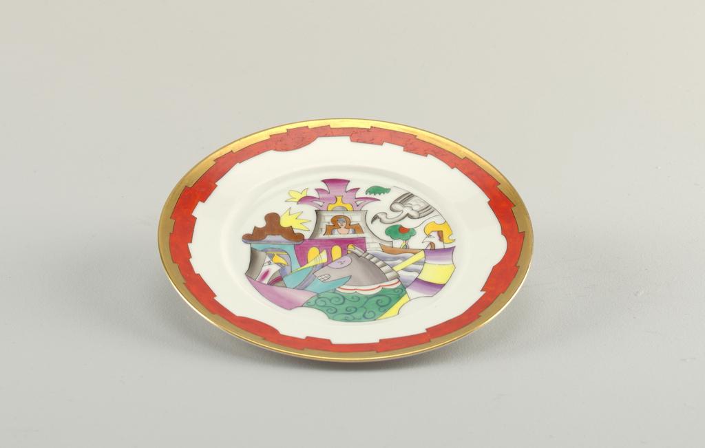 Dessert Plate, ca. 1925