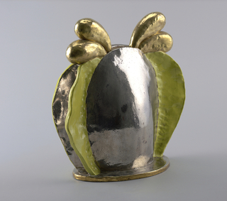 "Earthenware vase with lusters,"" Mondo Ref lecto"" 1968 Howard Kottler"