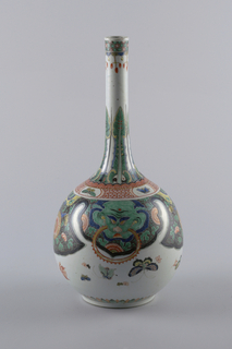 Vase With Stand (China)