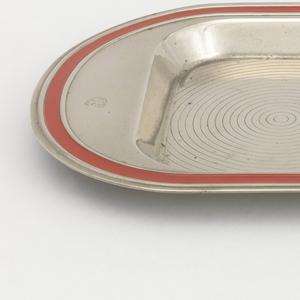 Smoker's set Tray, 1936–1937