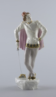 "The Dancer Sergei Koren as Mercutio in ""Romeo and Juliet"" Figure"
