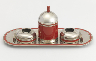 Smoker's set Tray, 1936–1937