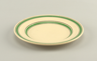 Bandarillo Plate, 1933