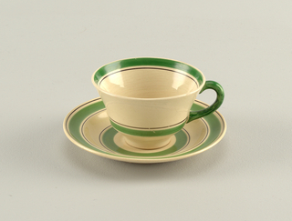 Bandarillo Cup And Saucer, 1933