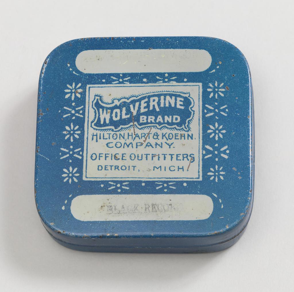 Wolverine Box, ca. 1920–30