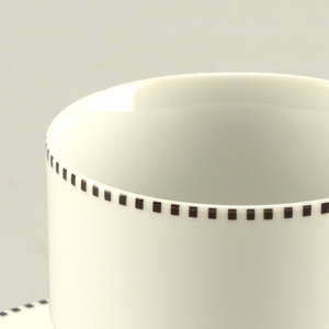 Tuxedo Cup And Saucer, 1986