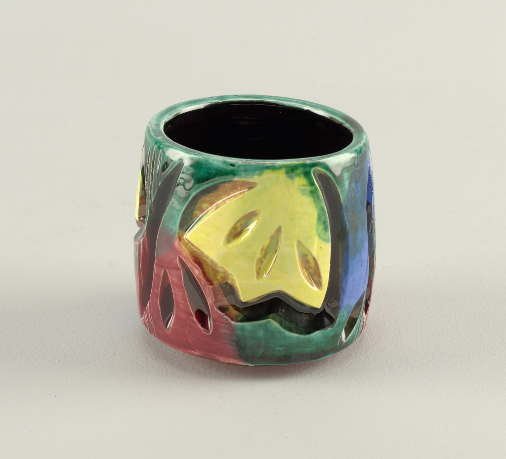 Colorful cup.
