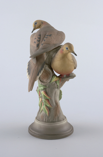 """Mourning Doves"" #443 Figural Group, 1958"