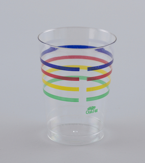 Party Case 88 Drinking Glass, ca. 1986