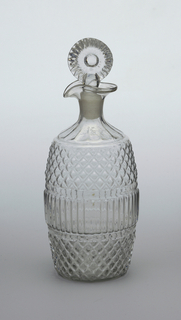 Decanter with Diamond Pattern Decanter