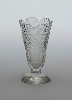 Sweetmeat Glass (Ireland), ca. 1800–20